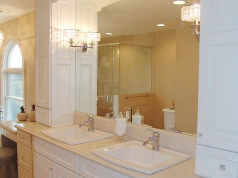 Bathroom Sconces And Mirrors