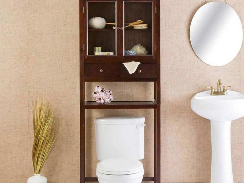 Bathroom Shelving Units Above Toilet