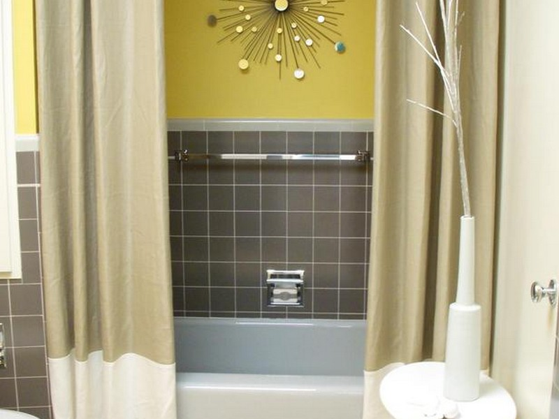 Bathroom Shower Curtain Ideas Photos