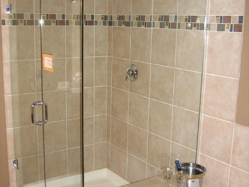 Bathroom Shower Glass Tile Designs