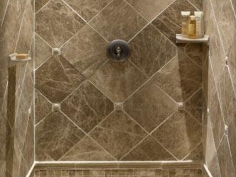 Bathroom Shower Stall Tile Designs