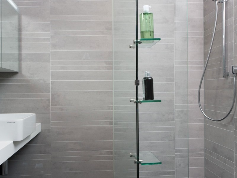 Bathroom Shower Tile Designs Gray