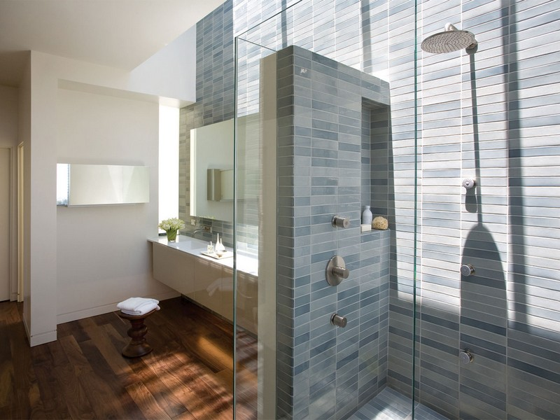 Bathroom Shower Tile Ideas Grey