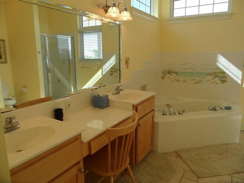 Bathroom Sink And Makeup Vanity
