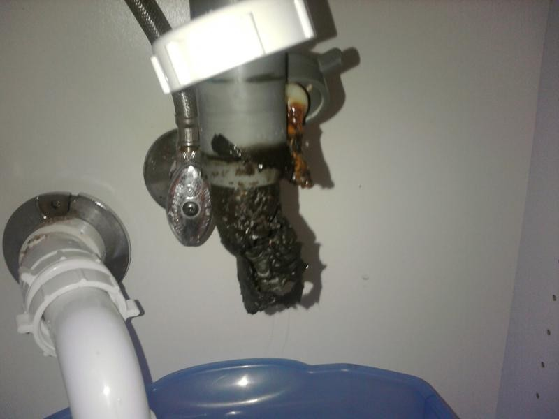 Bathroom Sink Clogged Black Stuff