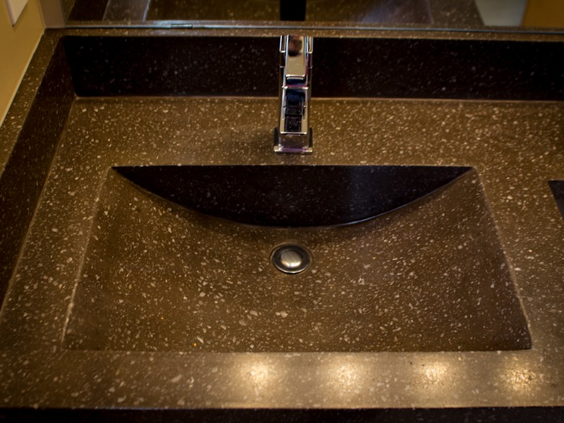 Bathroom Sink Countertop One Piece