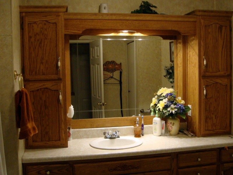 Bathroom Sink Vanity With Dressing Makeup Center
