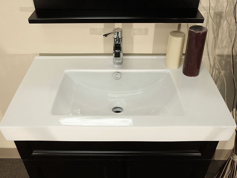 Bathroom Sink Without Backsplash