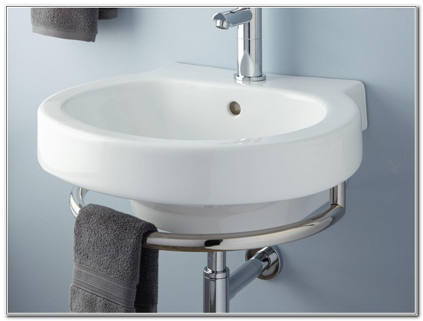 Bathroom Sinks With Towel Bars