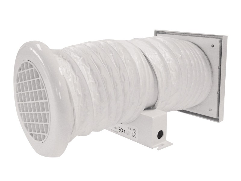 Bathroom Soffit Vent Kit