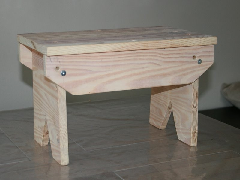Bathroom Step Stool Plans