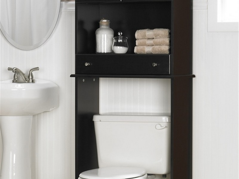 Bathroom Storage Cabinet Over The Toilet