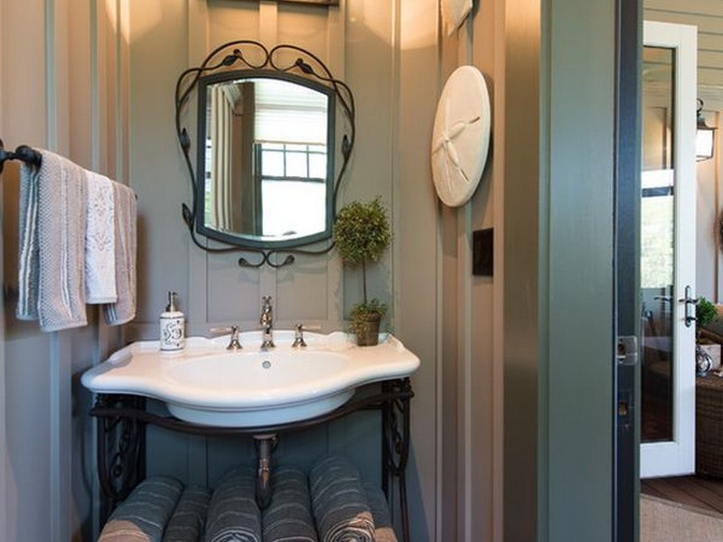 Bathroom Storage Under Pedestal Sink