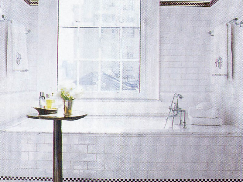 Bathroom Subway Tile Patterns