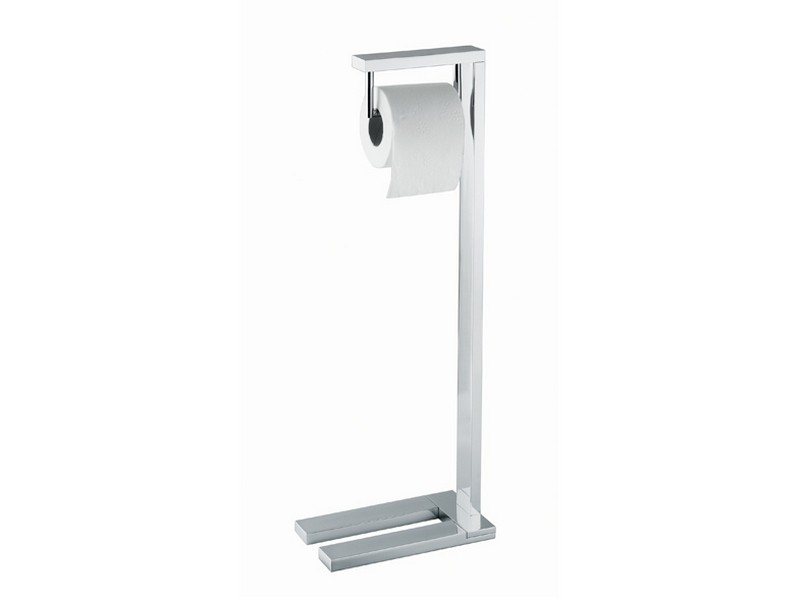 Bathroom Toilet Paper Holder Free Standing