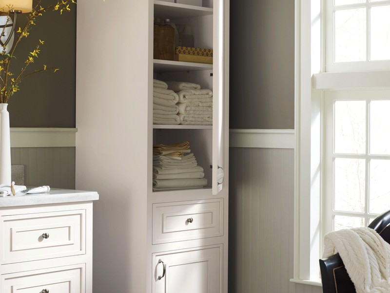 Bathroom Towel Cabinet Ideas