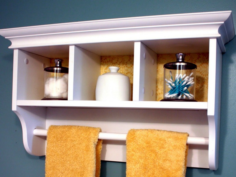 Bathroom Towel Hooks With Shelf