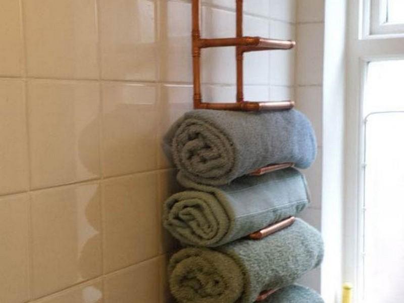 Bathroom Towel Racks Shelves