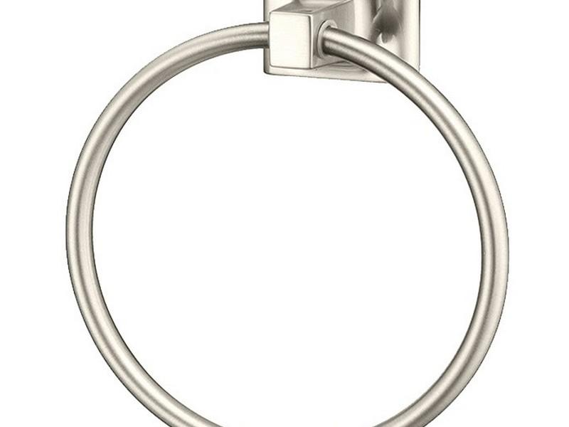 Bathroom Towel Rings Brushed Nickel