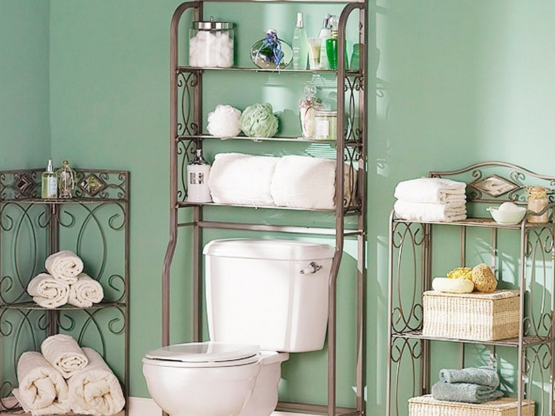 Bathroom Towel Shelf Ideas