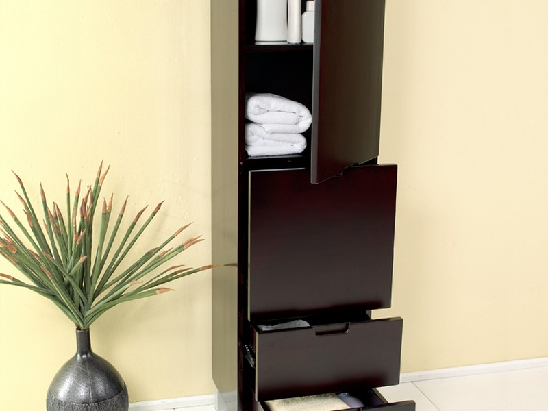 Bathroom Tower Cabinet