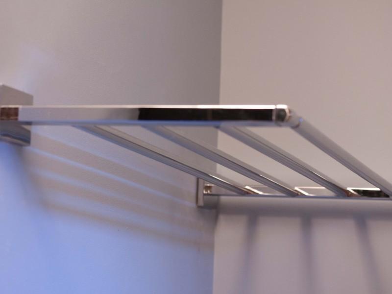 Bathroom Train Rack Chrome