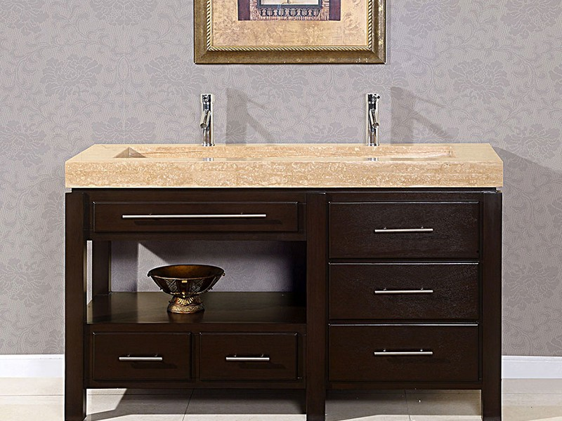 Bathroom Trough Sink Vanity