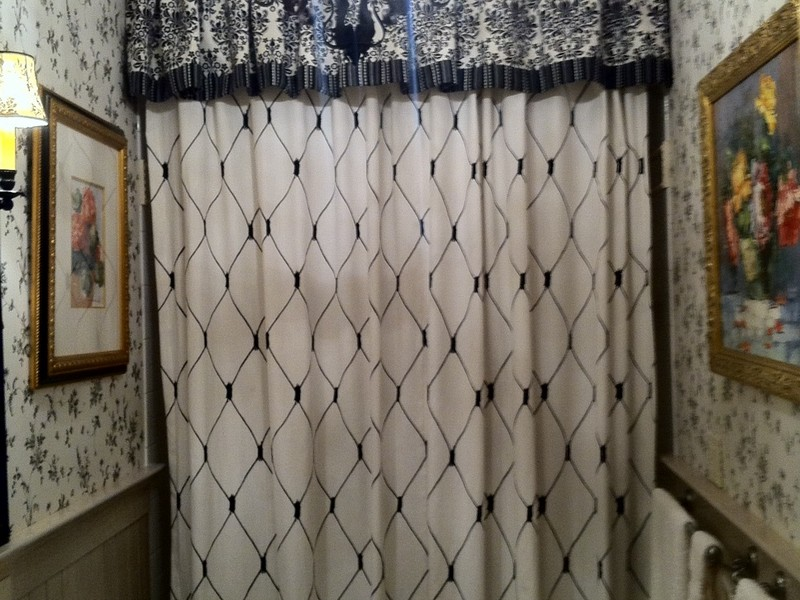 Bathroom Valance Curtains