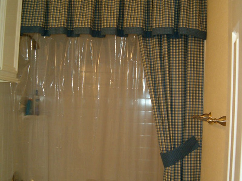 Bathroom Valances And Shower Curtains