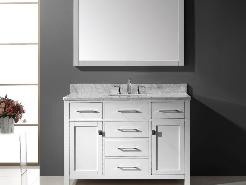 Bathroom Vanities 48 Inch Single Sink