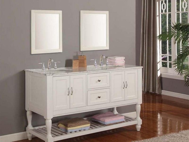 Bathroom Vanities 48 Inches White