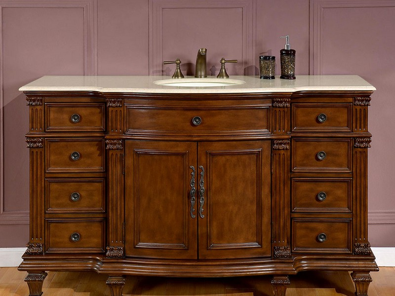 Bathroom Vanities 60 Inch Single Sink