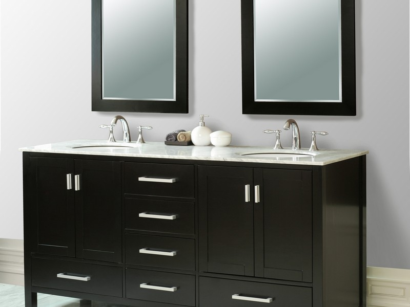 Bathroom Vanities Double Sink 60 Inches