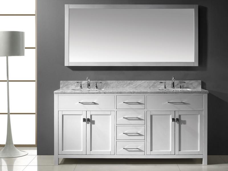 Bathroom Vanities Double Sink 72