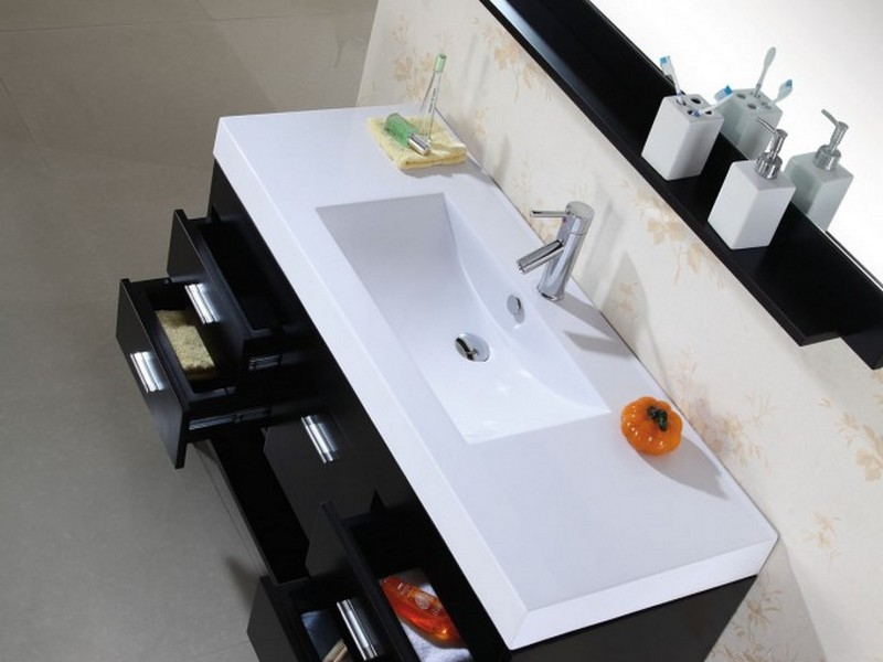 Bathroom Vanities Single Sink 48 Inches