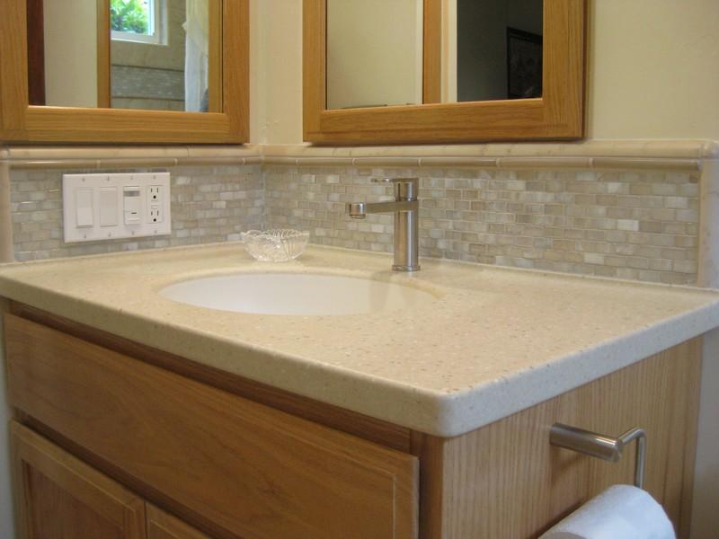 Bathroom Vanities Tiled Tops