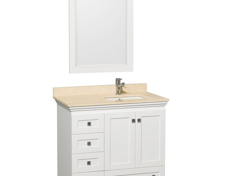 Bathroom Vanities White 36 Inches