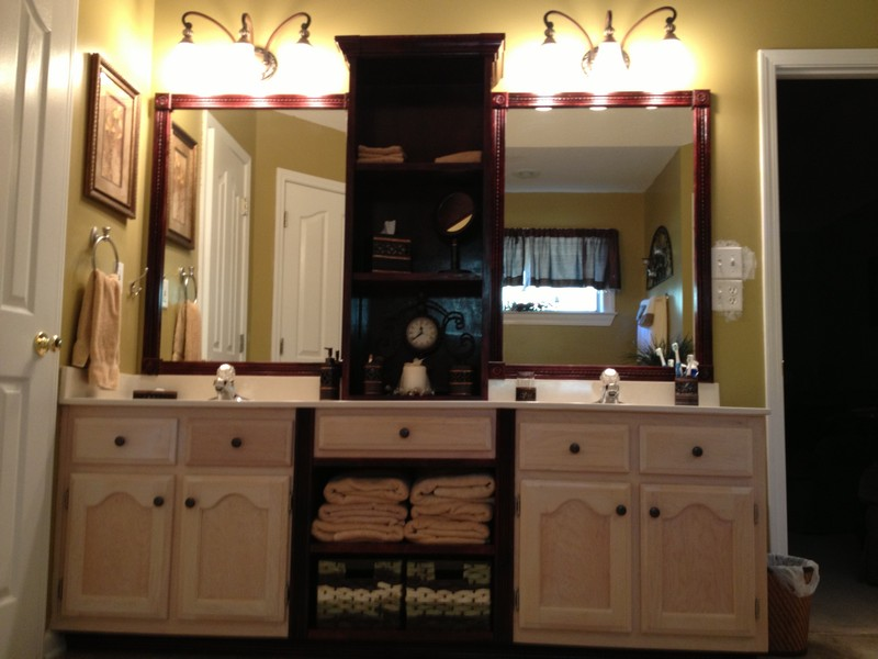 Bathroom Vanities With Cabinets On Top