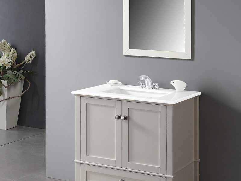 Bathroom Vanities With Large Bottom Drawer