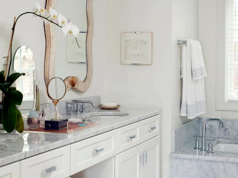 Bathroom Vanities With Makeup Table