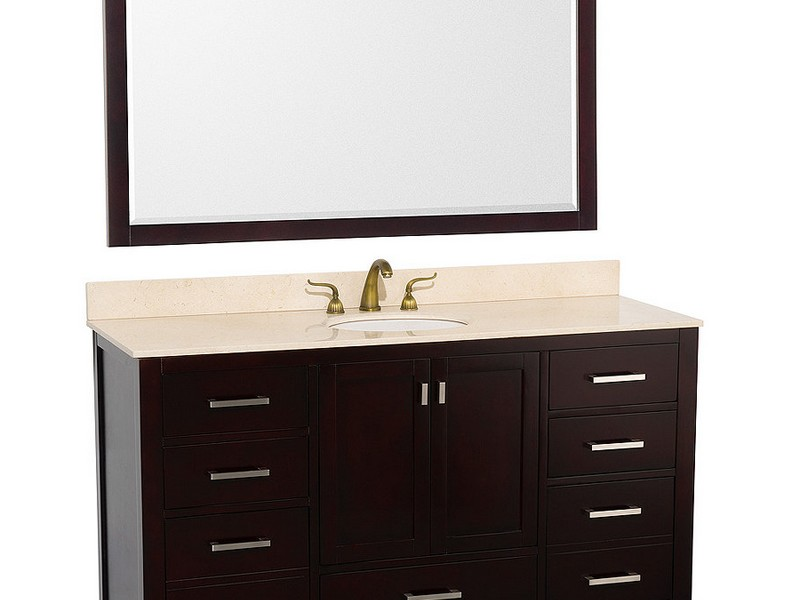 Bathroom Vanity 60 Inches Single Sink