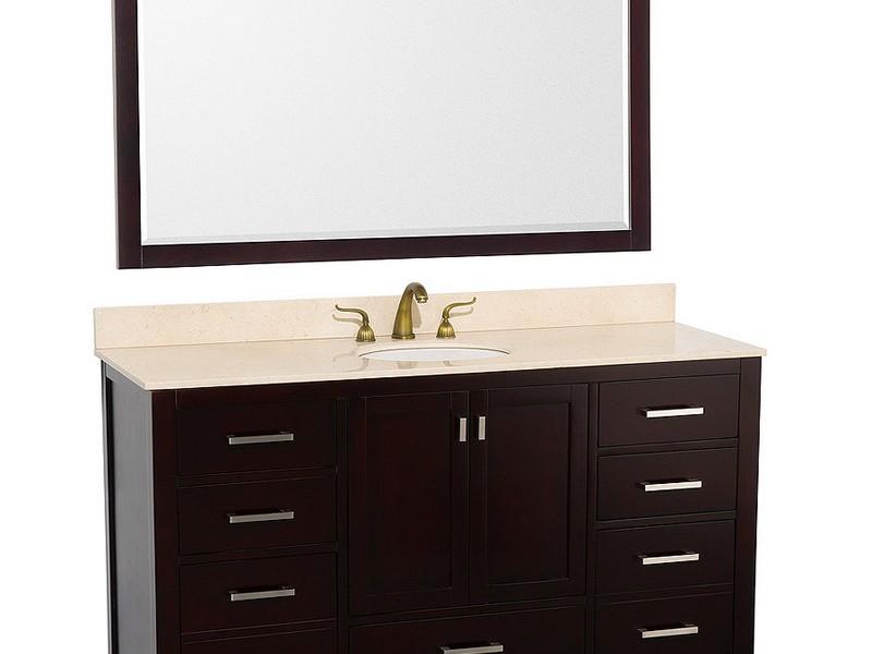 Bathroom Vanity 60 Inches Single Sink