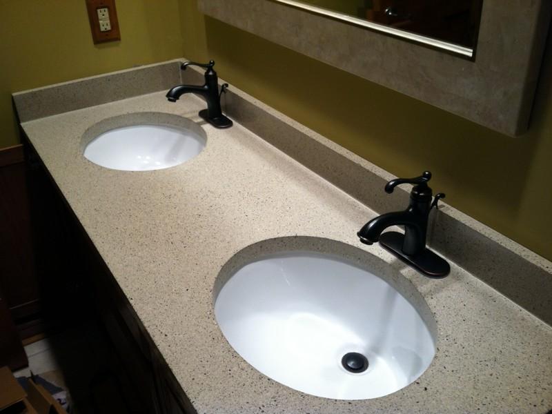 Bathroom Vanity Countertops Double Sink