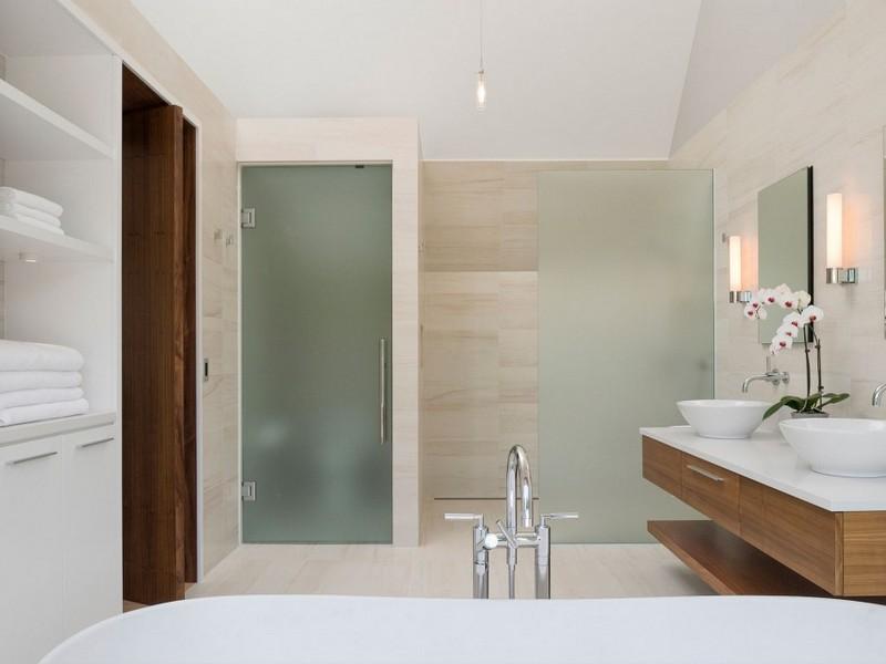 Bathroom Vanity Glass Doors