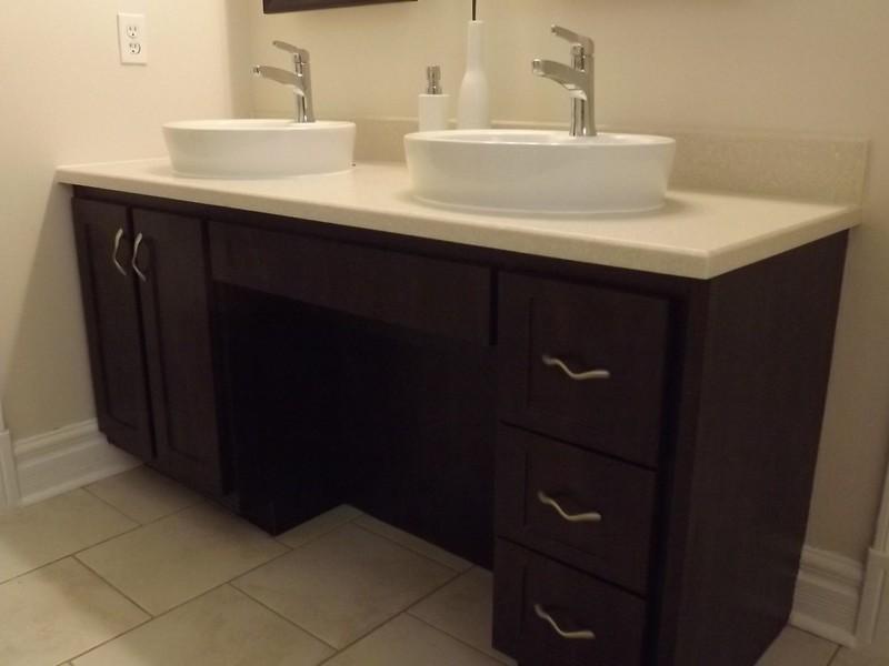 Bathroom Vanity Refacing