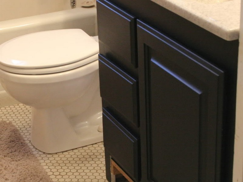Bathroom Vanity Refinishing Ideas