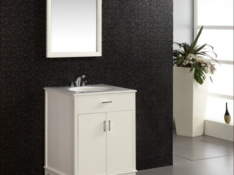 Bathroom Vanity With Drawers On Left Side