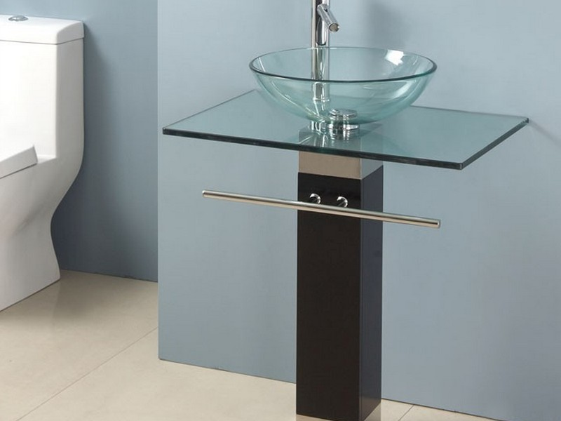 Bathroom Vanity With Glass Bowl Sink