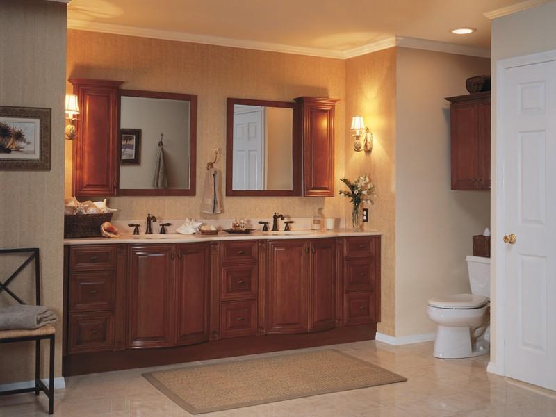 Bathroom Vanity With Hutch Mirror