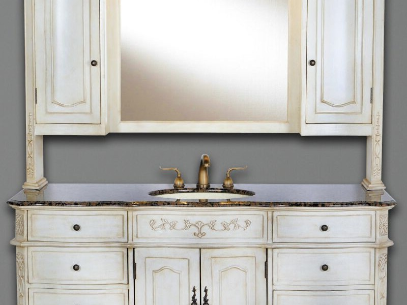 Bathroom Vanity With Hutch